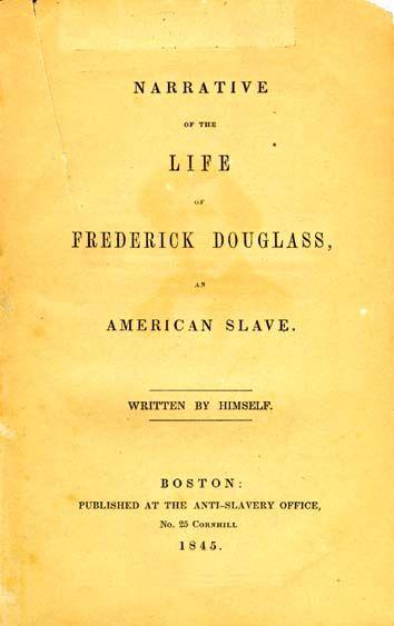 research paper narrative life frederick douglass
